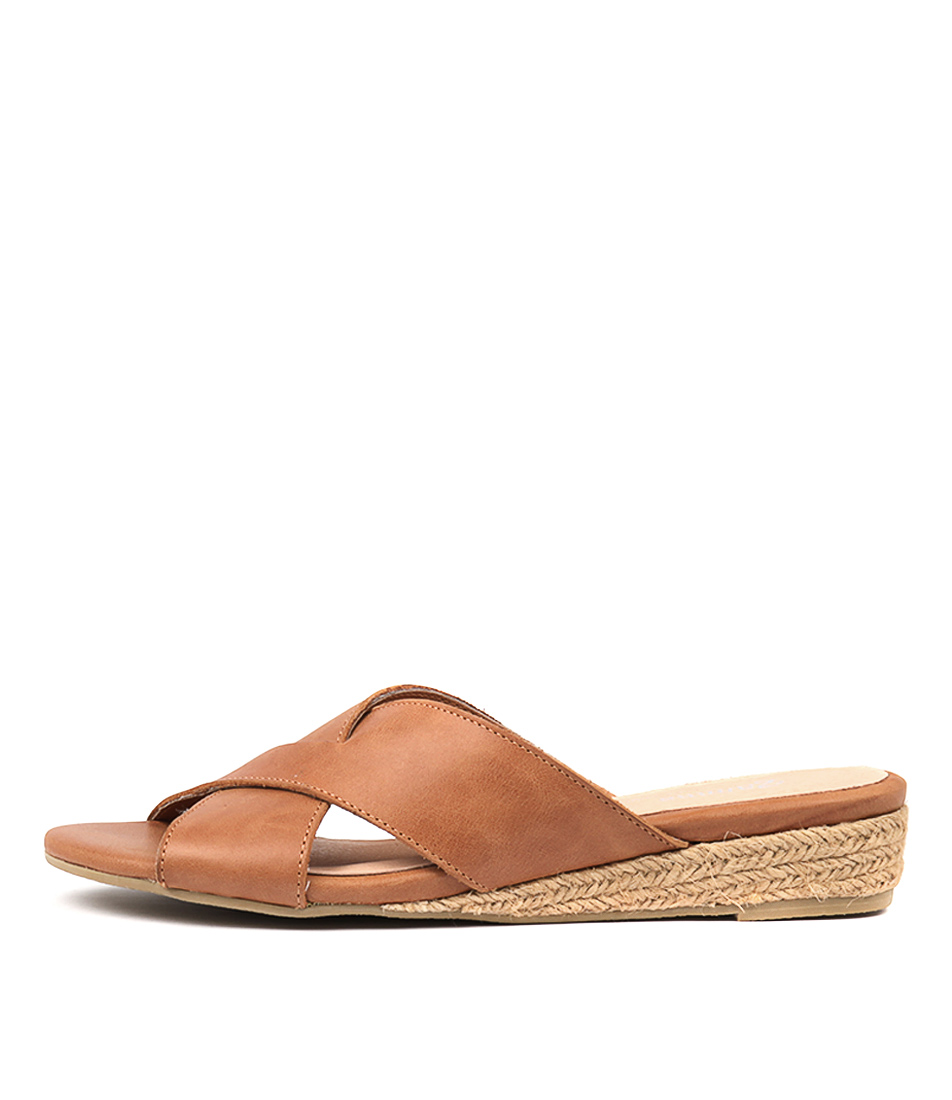 Buy Gamins Chaz Tan Tan Flat Sandals online with free shipping
