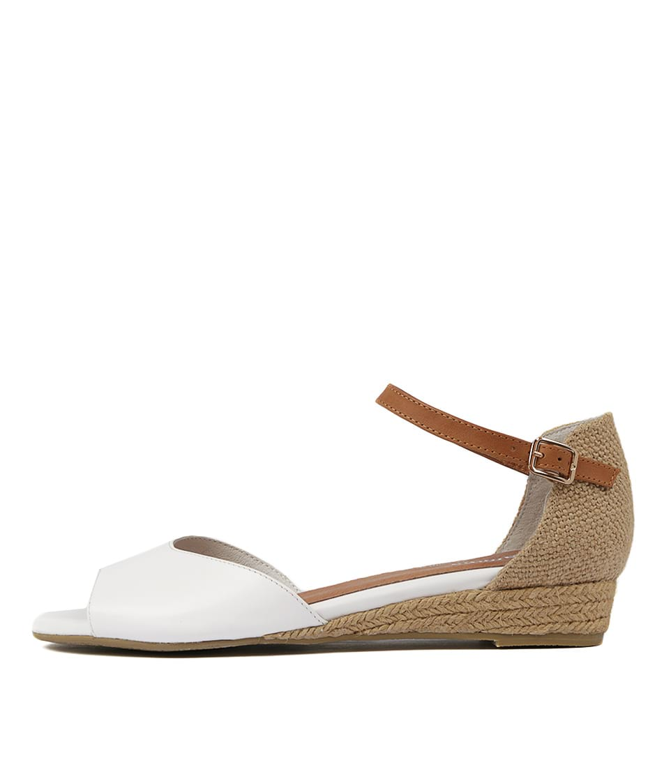 Buy Gamins Cheryl White Heeled Sandals online with free shipping