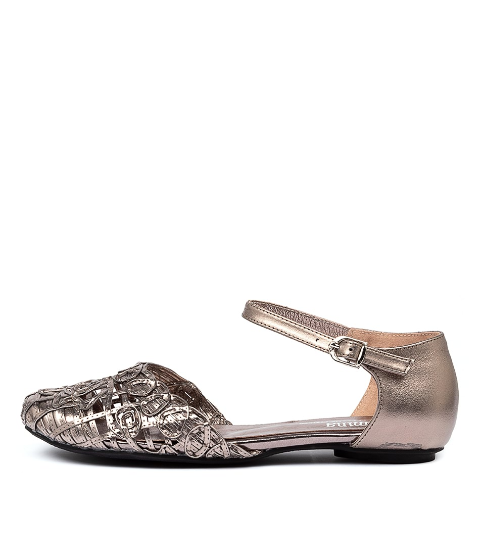 Buy Gamins Esme Pewter Flats online with free shipping