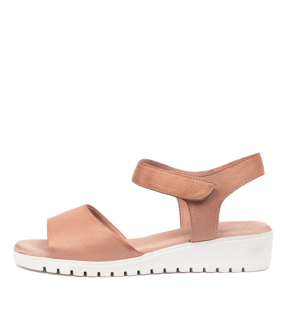 Buy Gamins Fultons Cafe White Sole Flat Sandals online with free shipping