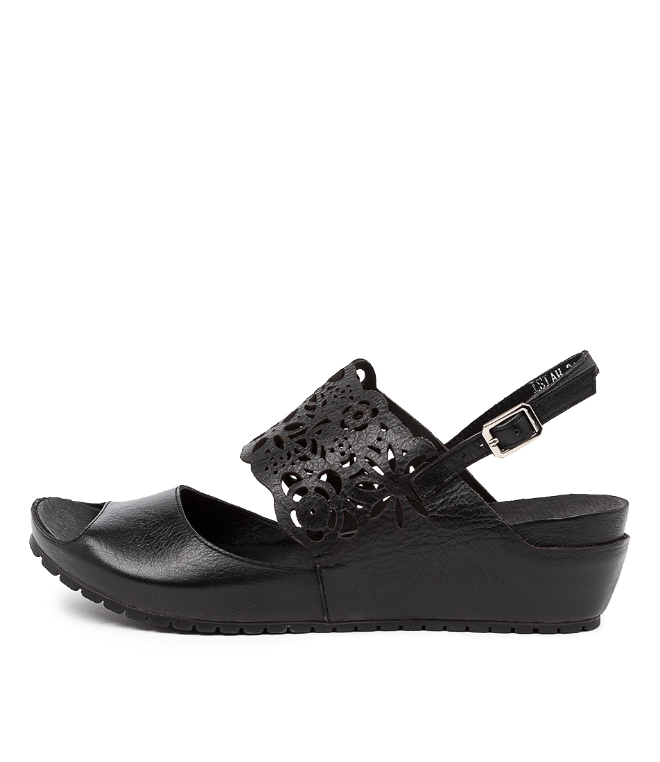 Buy Gamins Isiah Black Heeled Sandals online with free shipping