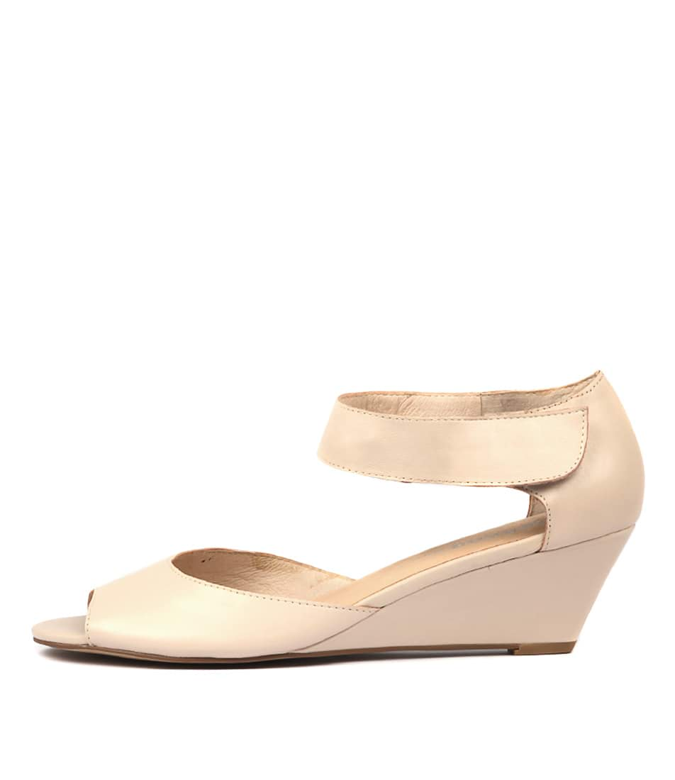 Buy Gamins Winez Nude Heeled Sandals online with free shipping