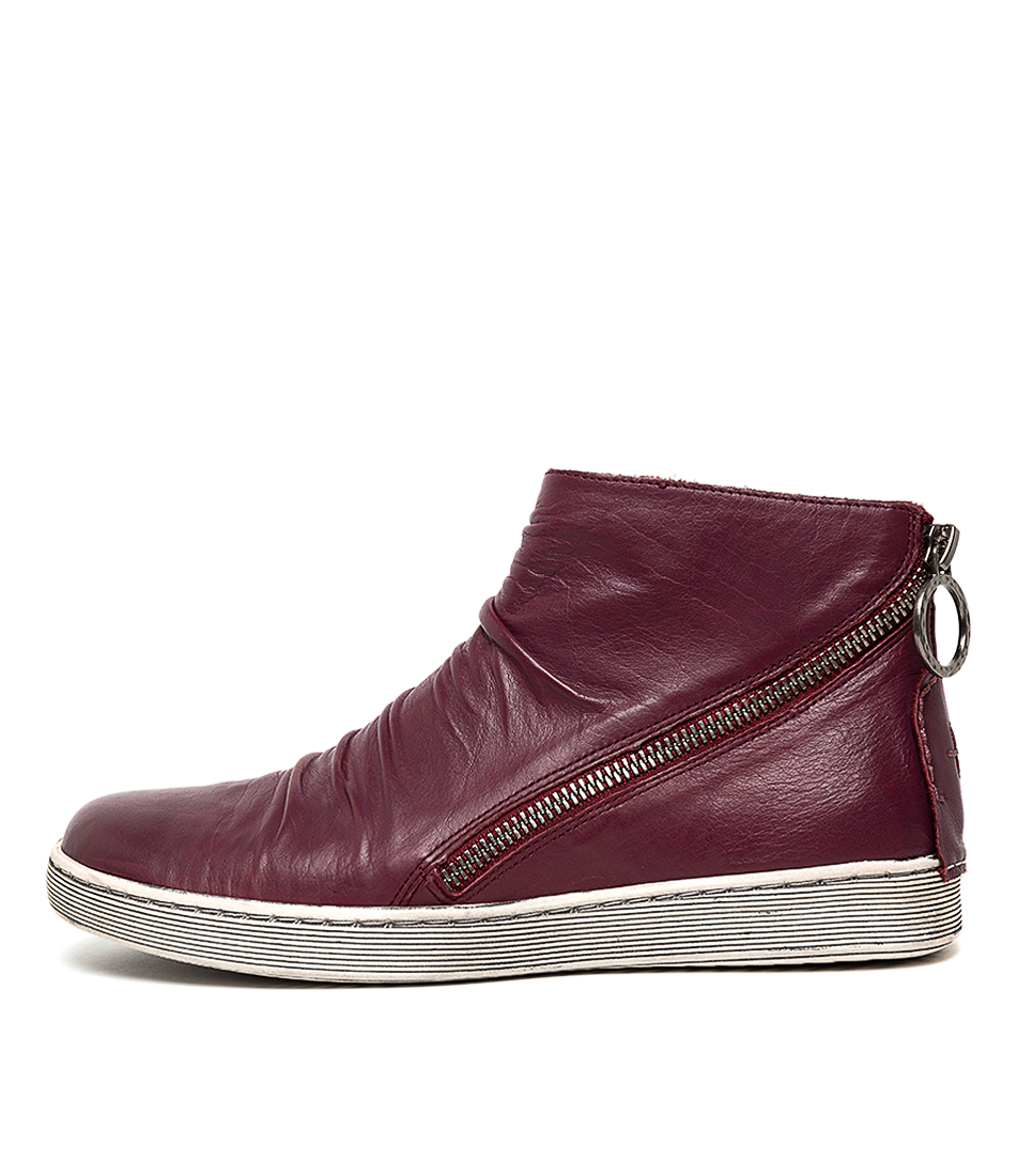 Buy Gamins Darwyn Plum Ankle Boots online with free shipping