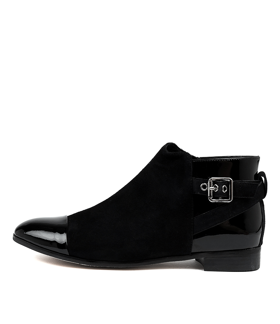 Buy Gamins Jessika Black Ankle Boots online with free shipping
