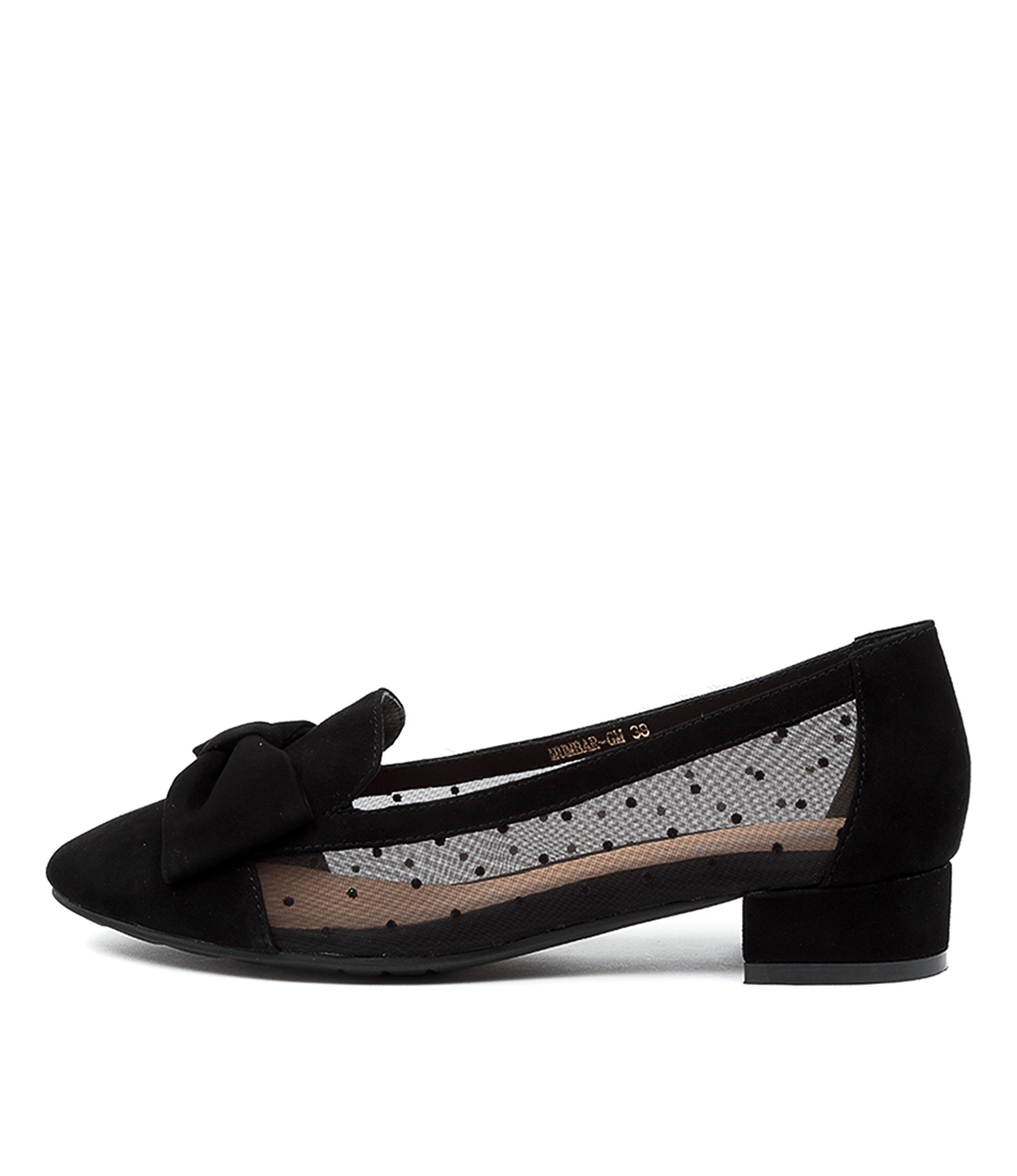 Buy Gamins Humbar Gm Black Dot Flats online with free shipping