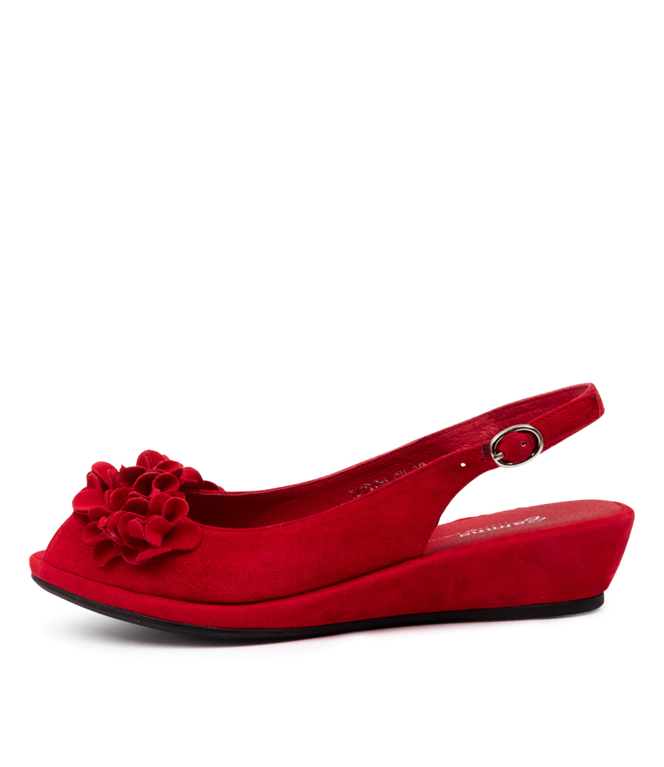 Buy Gamins Javion Gm Red High Heels online with free shipping