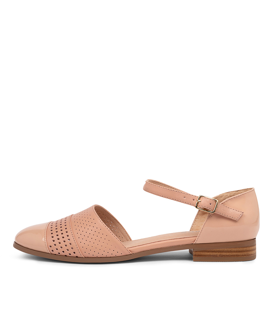 Buy Gamins Jesica Gm Pale Pink Flats online with free shipping