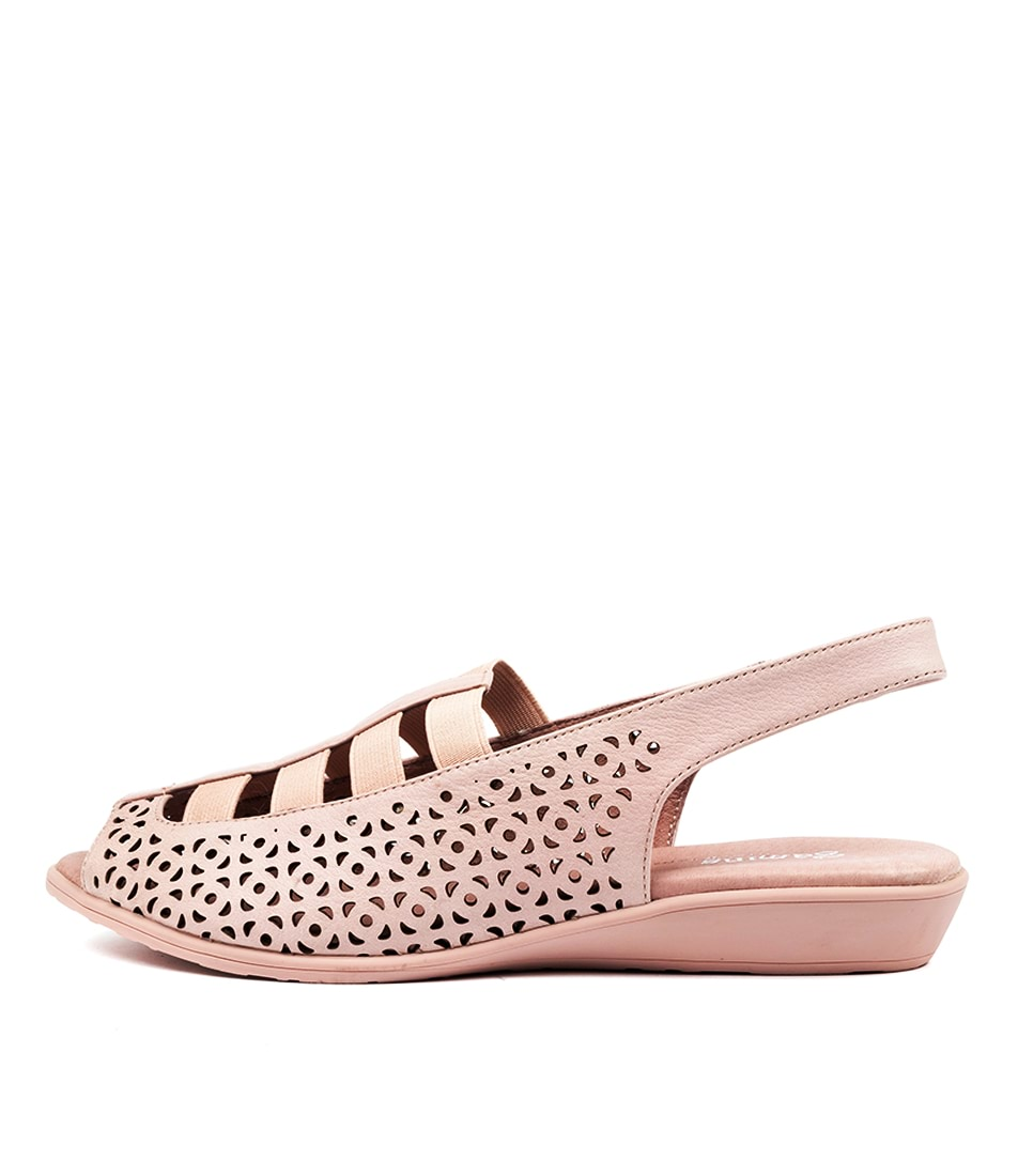 Buy Gamins Russel Gm Pale Pink Flat Sandals online with free shipping