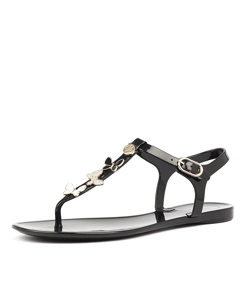 Guess Jalona Black Sandals