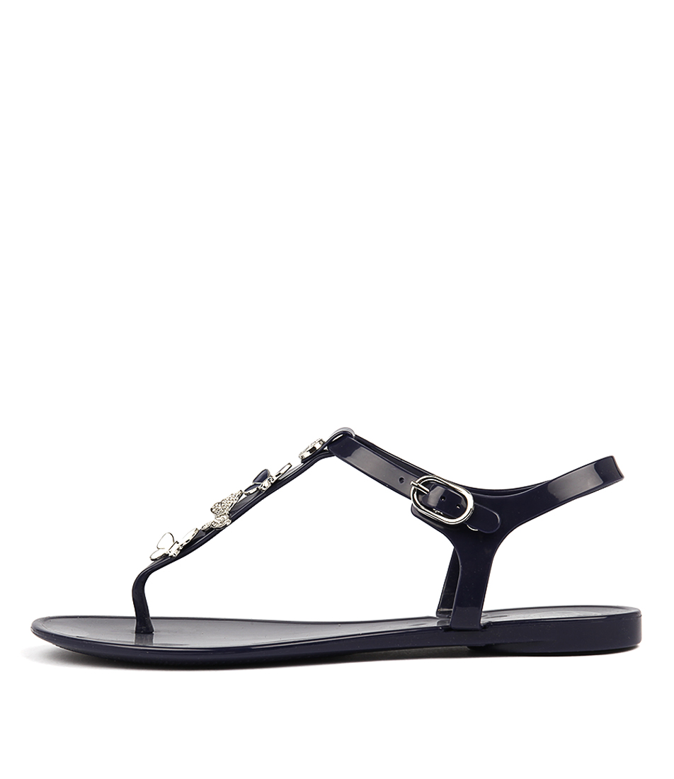 Guess Jalona Deep BlueFlat Sandals