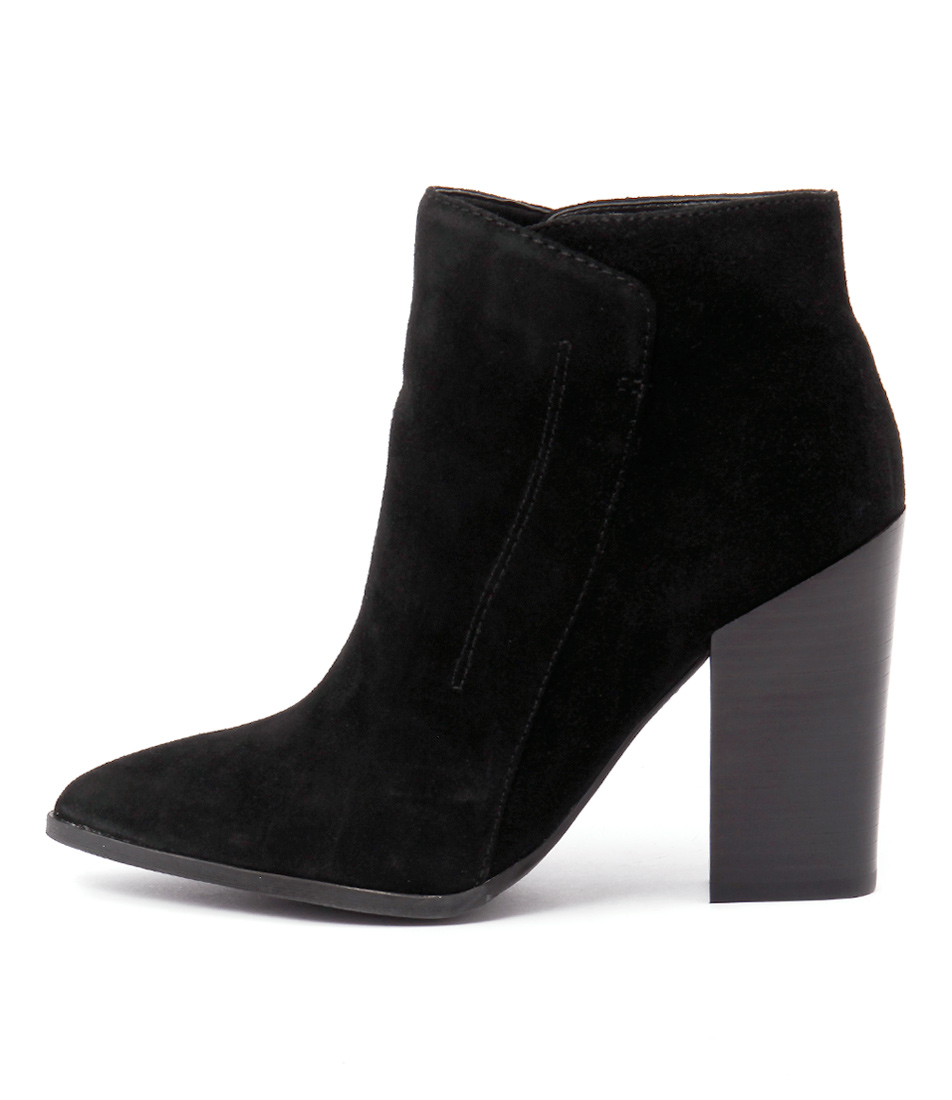 Guess Hardey Black Ankle Boots