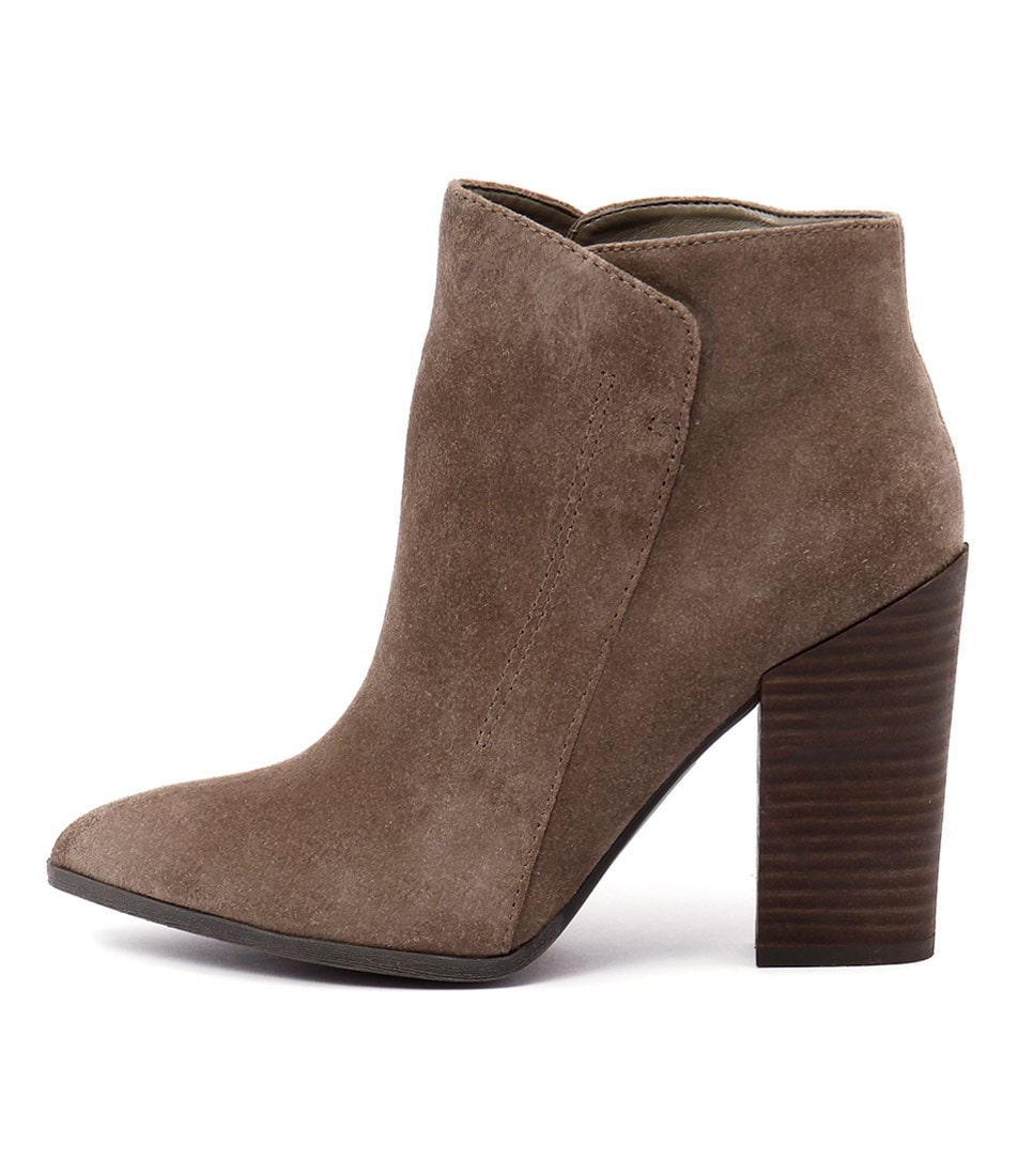 Guess Hardey Chateau Taupe Dress Ankle Boots