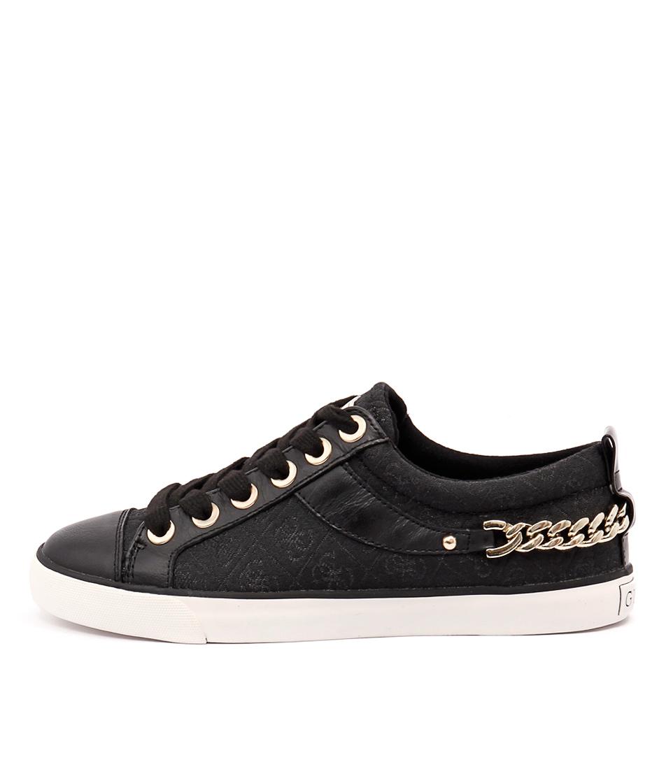 Guess Meenas Black Black Sneakers