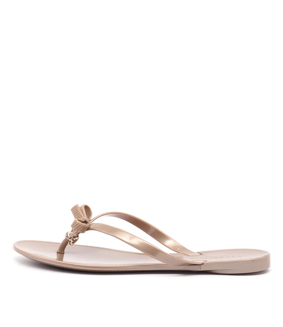 Guess Joyae Dk Nude Casual Flat Sandals
