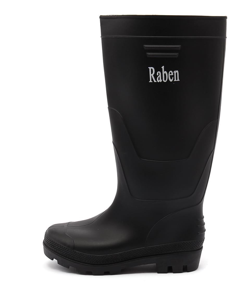 Buy Gumboots Pvc Black Long Black Calf Boots online with free shipping