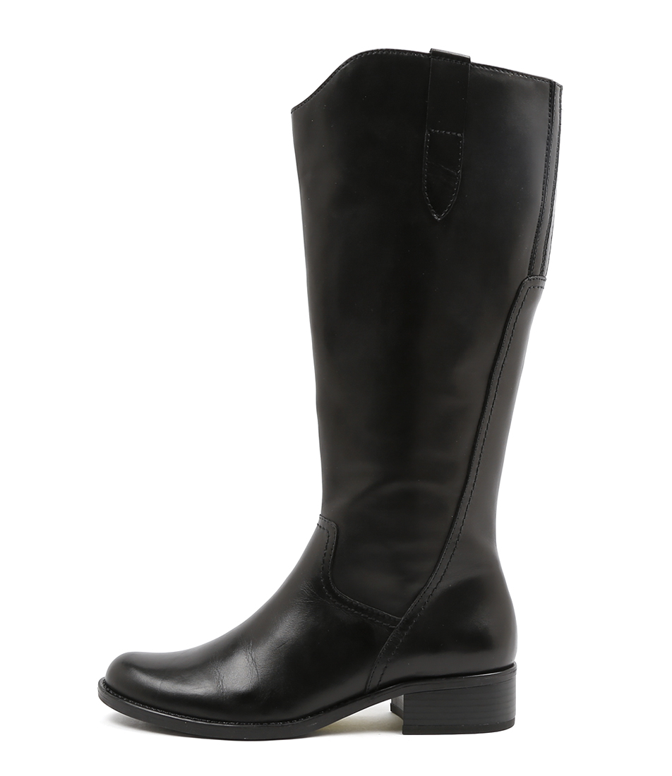 Gino Ventori Elate Black Casual Long Boots
