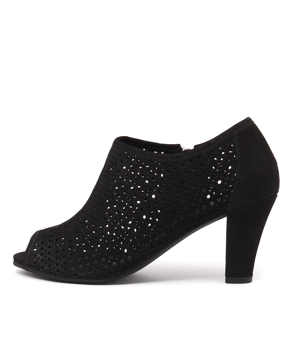 Gino Ventori Favour Black Shoes