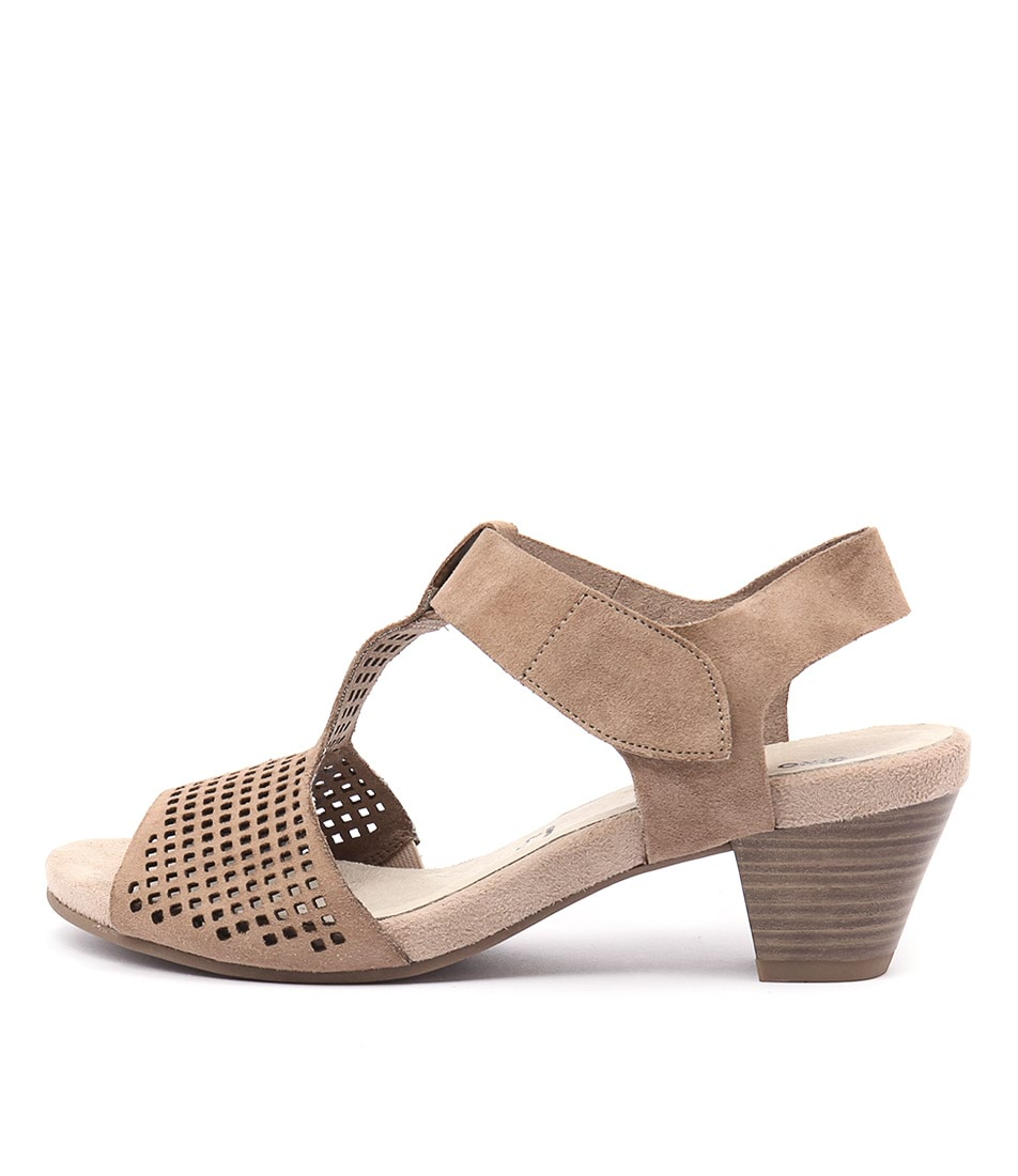 Gino Ventori Fiction Taupe Heeled Sandals