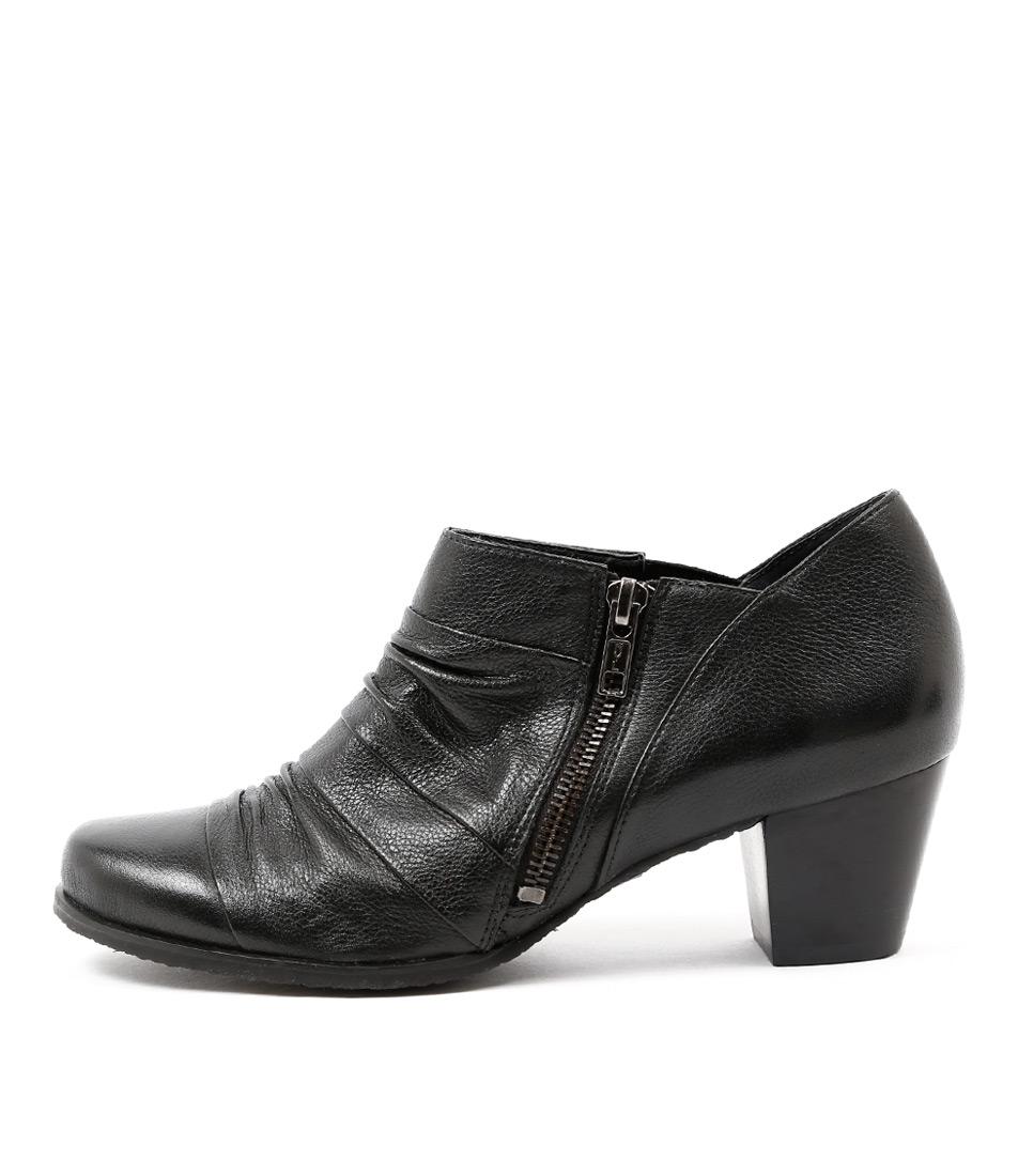 Gino Ventori Geena Black Shoes