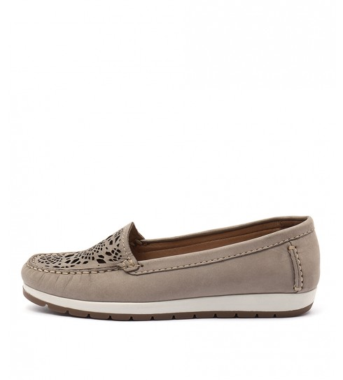 Gino Ventori Japonica Taupe Casual Flat Shoes
