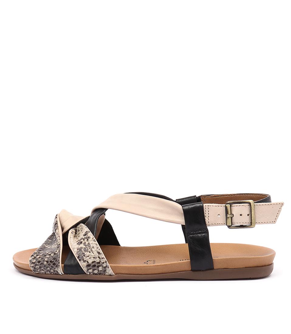Gino Ventori Nola Ivory Sandals