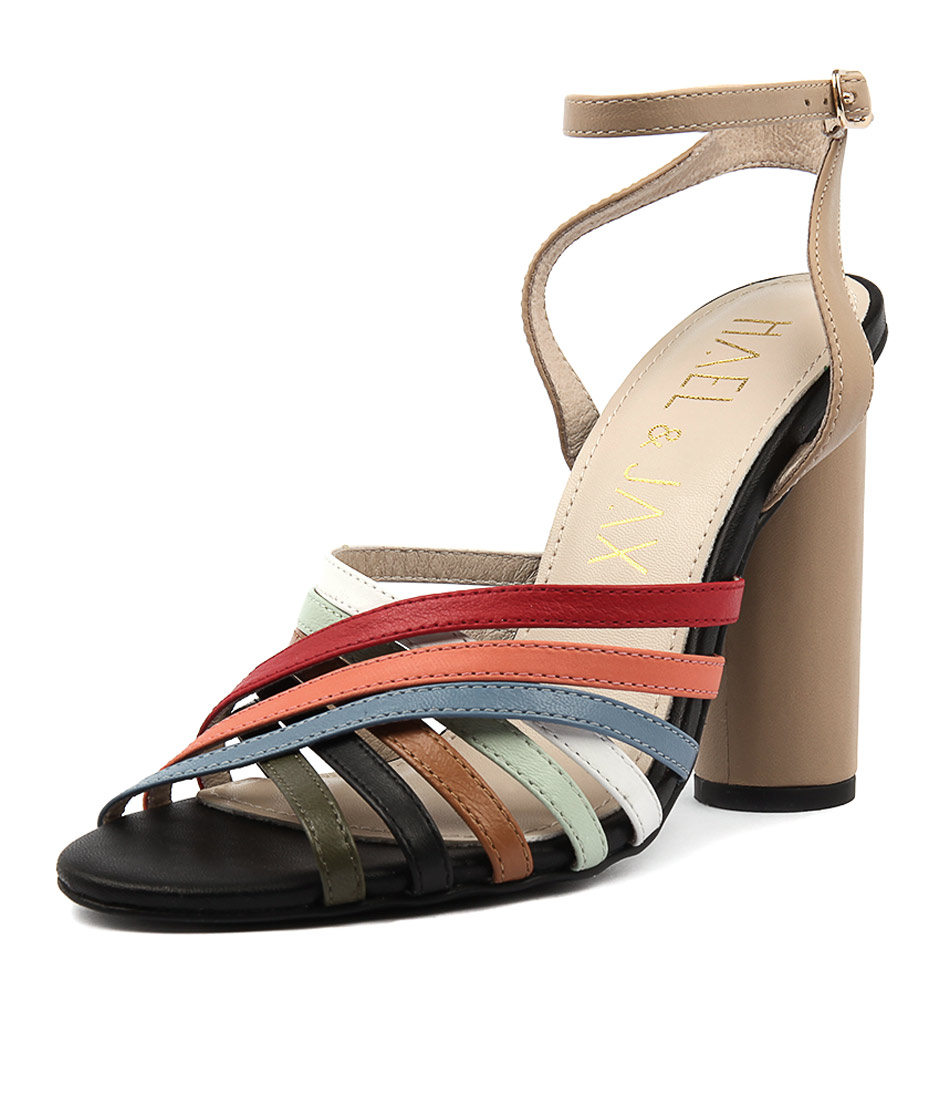 Hael & Jax Tansy Multi Heeled Sandals