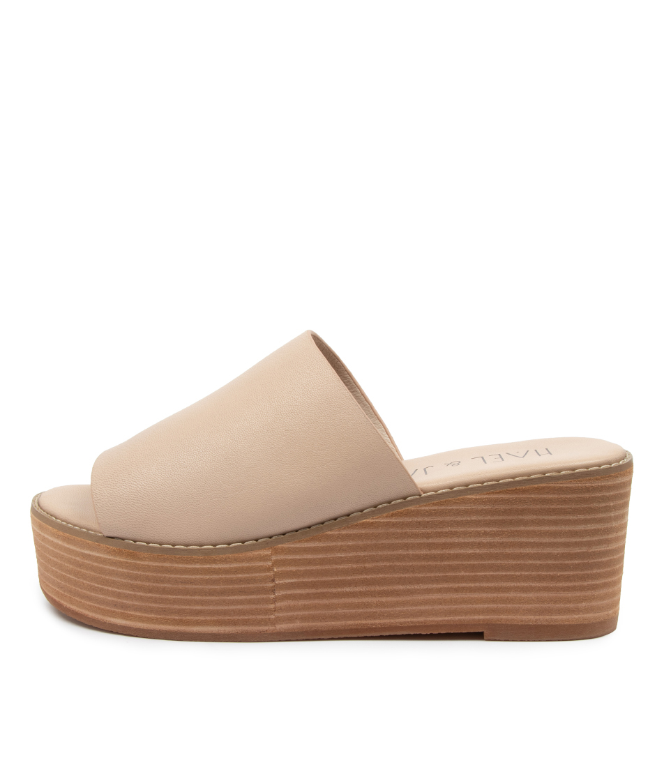 Buy Hael & Jax Gal Hj Sand Heeled Sandals online with free shipping