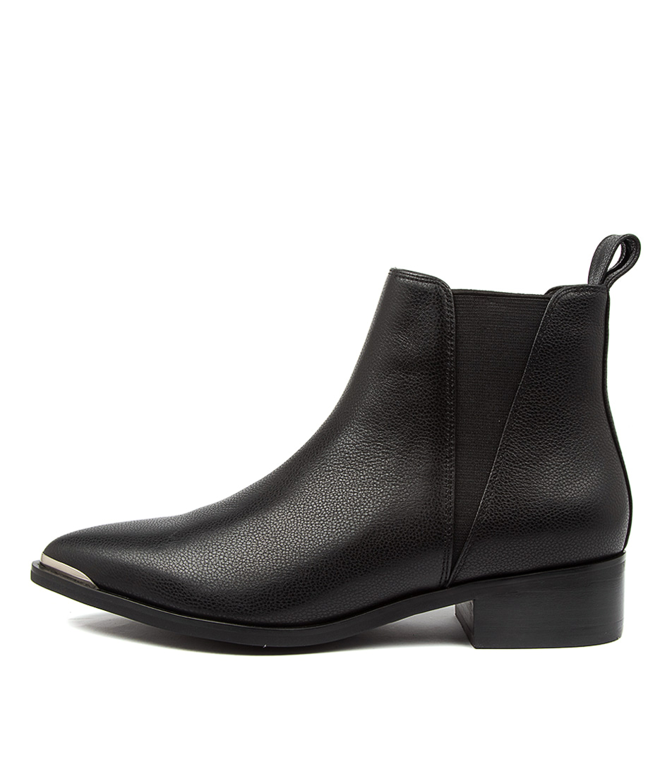 Buy Hael & Jax Cheers Hj Black Ankle Boots online with free shipping