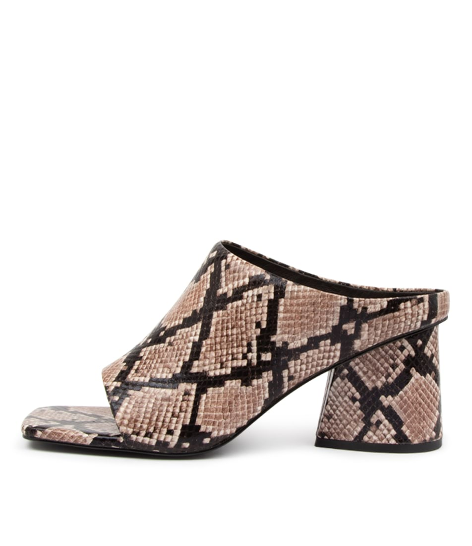 Buy Hael & Jax Possy Hj Brown Heeled Sandals online with free shipping