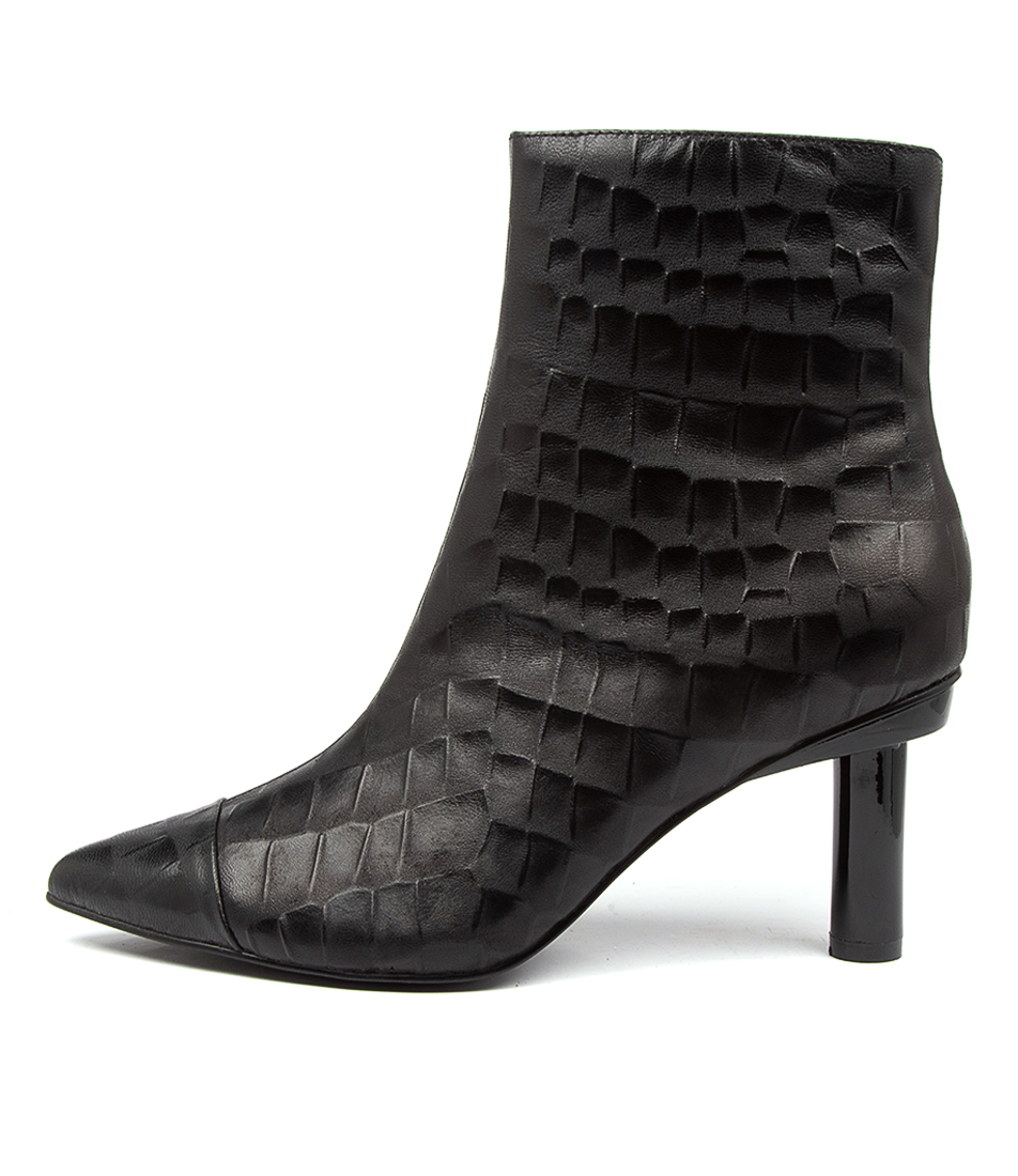 Buy Hael & Jax Social Hj Black Ankle Boots online with free shipping