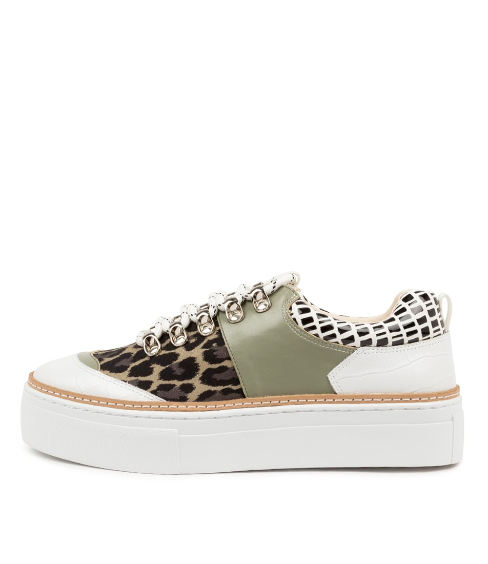 Buy Hael & Jax Finesse Hj Moss Multi Sneakers online with free shipping