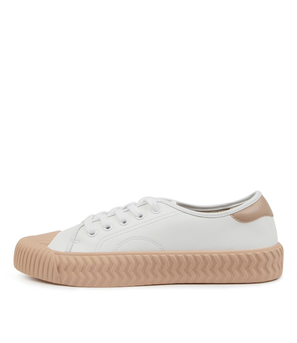 Buy Hael & Jax Noble Hj White Sneakers online with free shipping