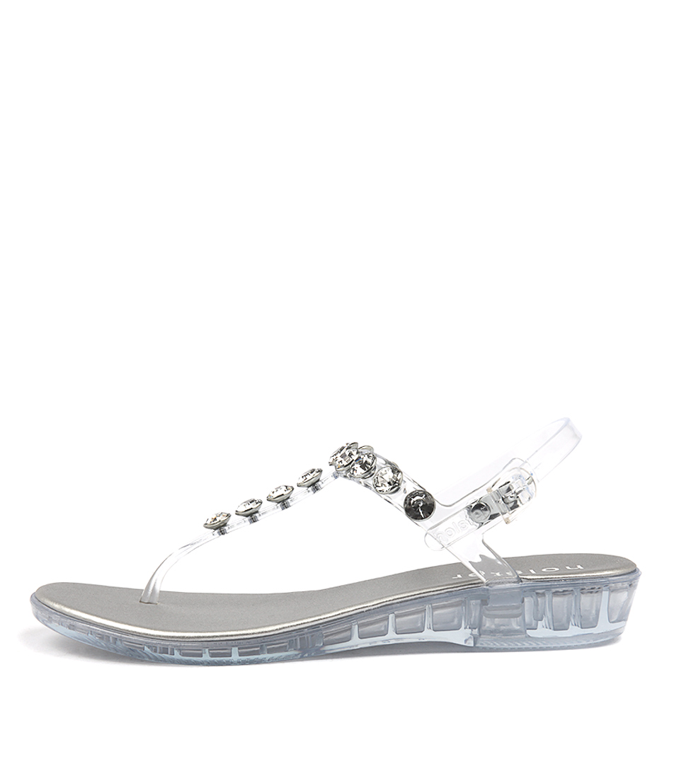 Holster Amalfi Wedge Clear Heeled Sandals