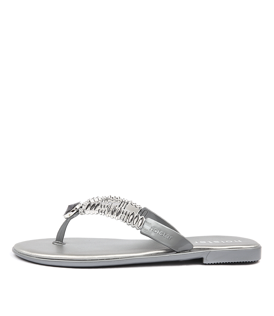 Holster Crown Ho Silver Sandals