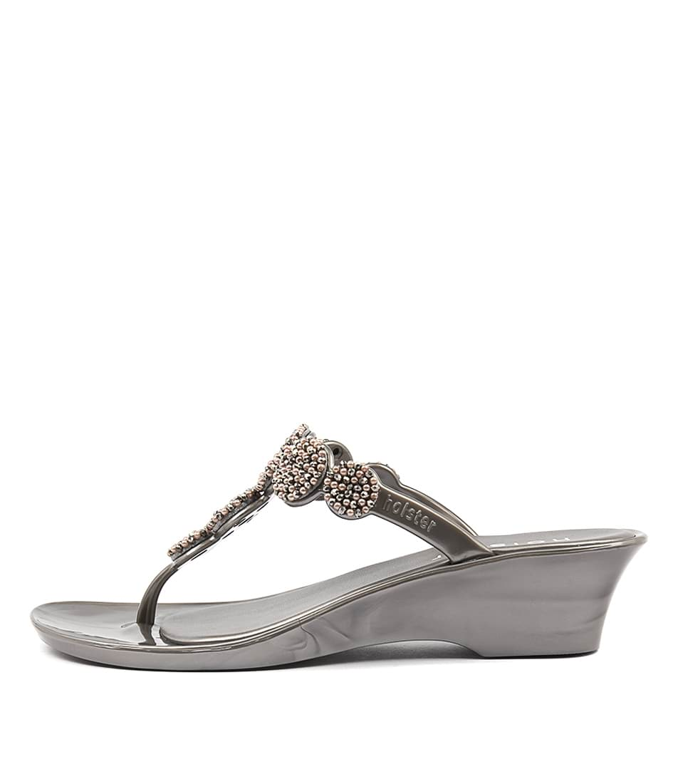 Holster Inspire Pewter Heeled Sandals