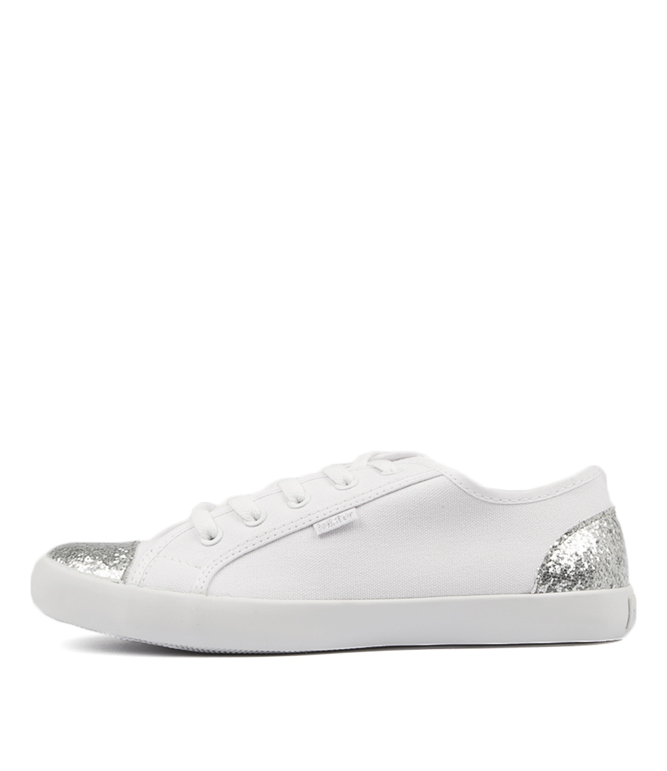 Holster Aries Ho White Flat Shoes