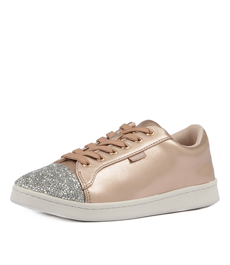 Holster Swarovski Crystal Enlighten Rose Gold Flats
