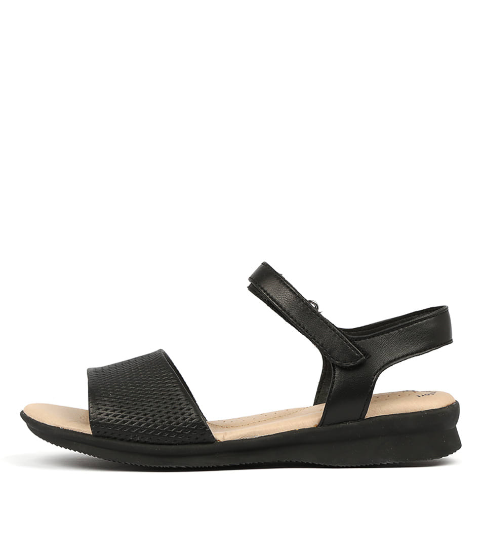 Buy Hush Puppies Nigella Hp Black Sandals online with free shipping