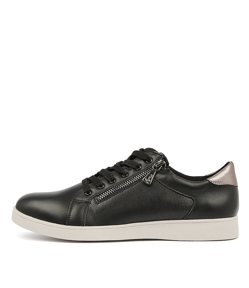 Buy Hush Puppies Mimosa Hp Black Sneakers online with free shipping