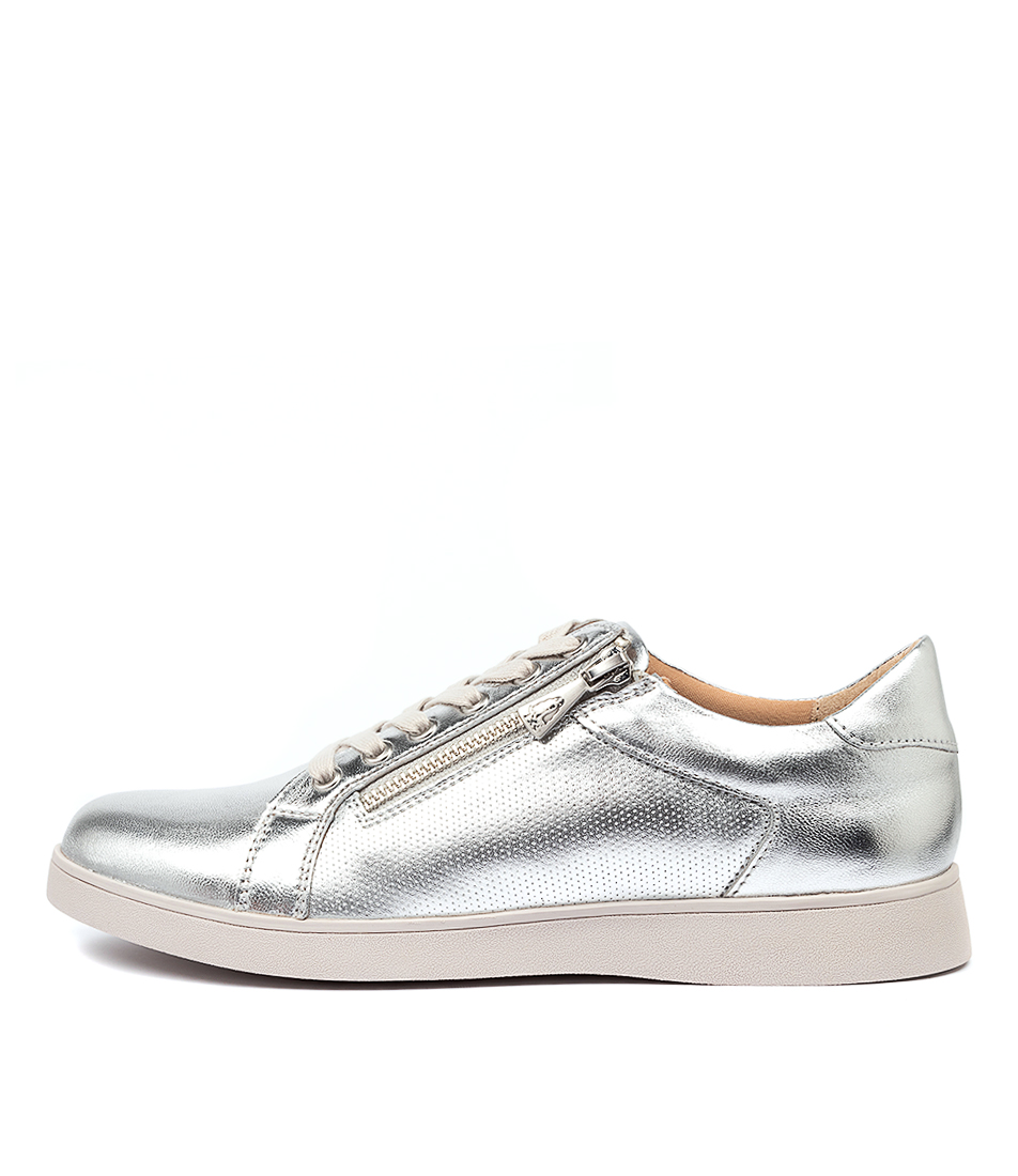 Buy Hush Puppies Mimosa Hp Silver Sneakers online with free shipping