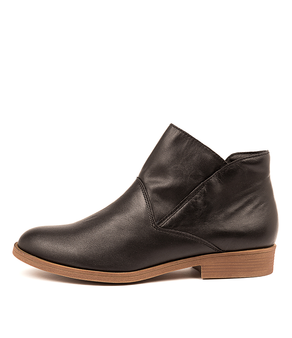 Buy Hush Puppies Colbert Black Ankle Boots online with free shipping