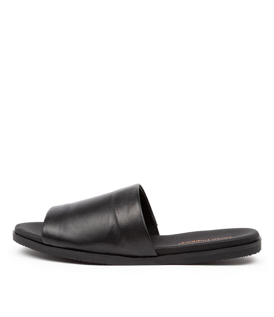 Buy Hush Puppies Paradise Hp Black Sandals online with free shipping