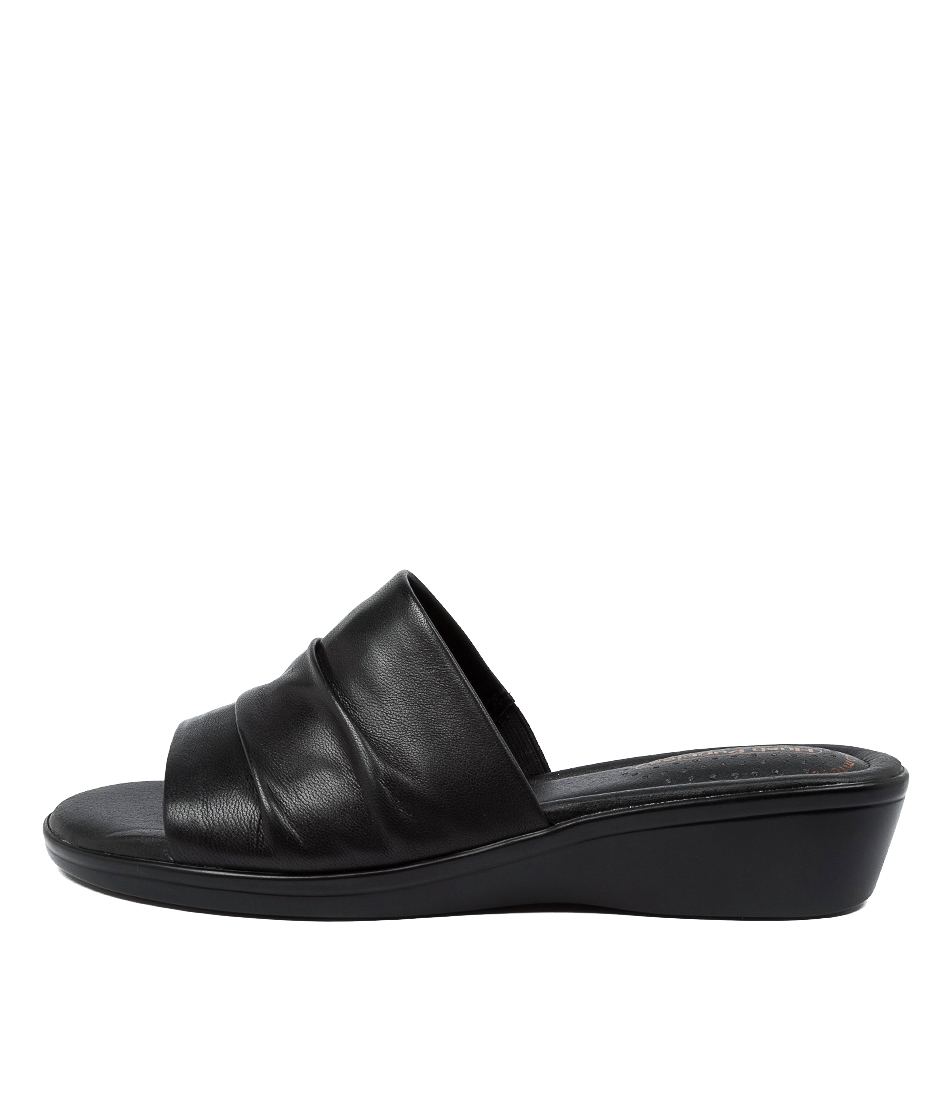 Buy Hush Puppies Carly Hp Black Sandals online with free shipping