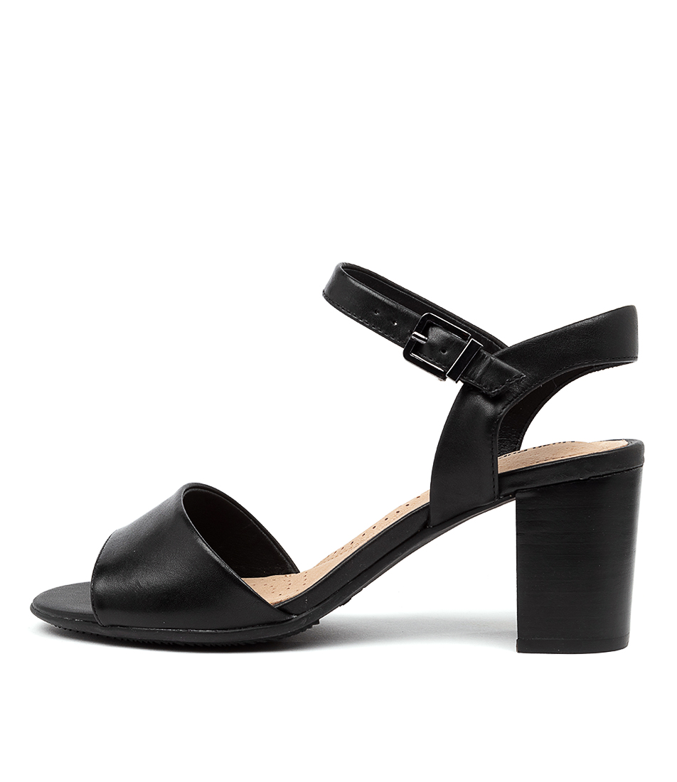 Buy Hush Puppies Lindera Hp Black Heeled Sandals online with free shipping