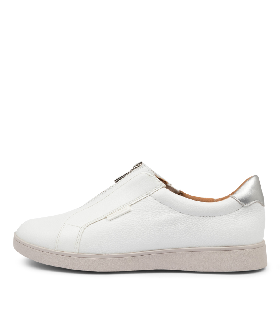 Buy Hush Puppies Montana Hp White Sneakers online with free shipping