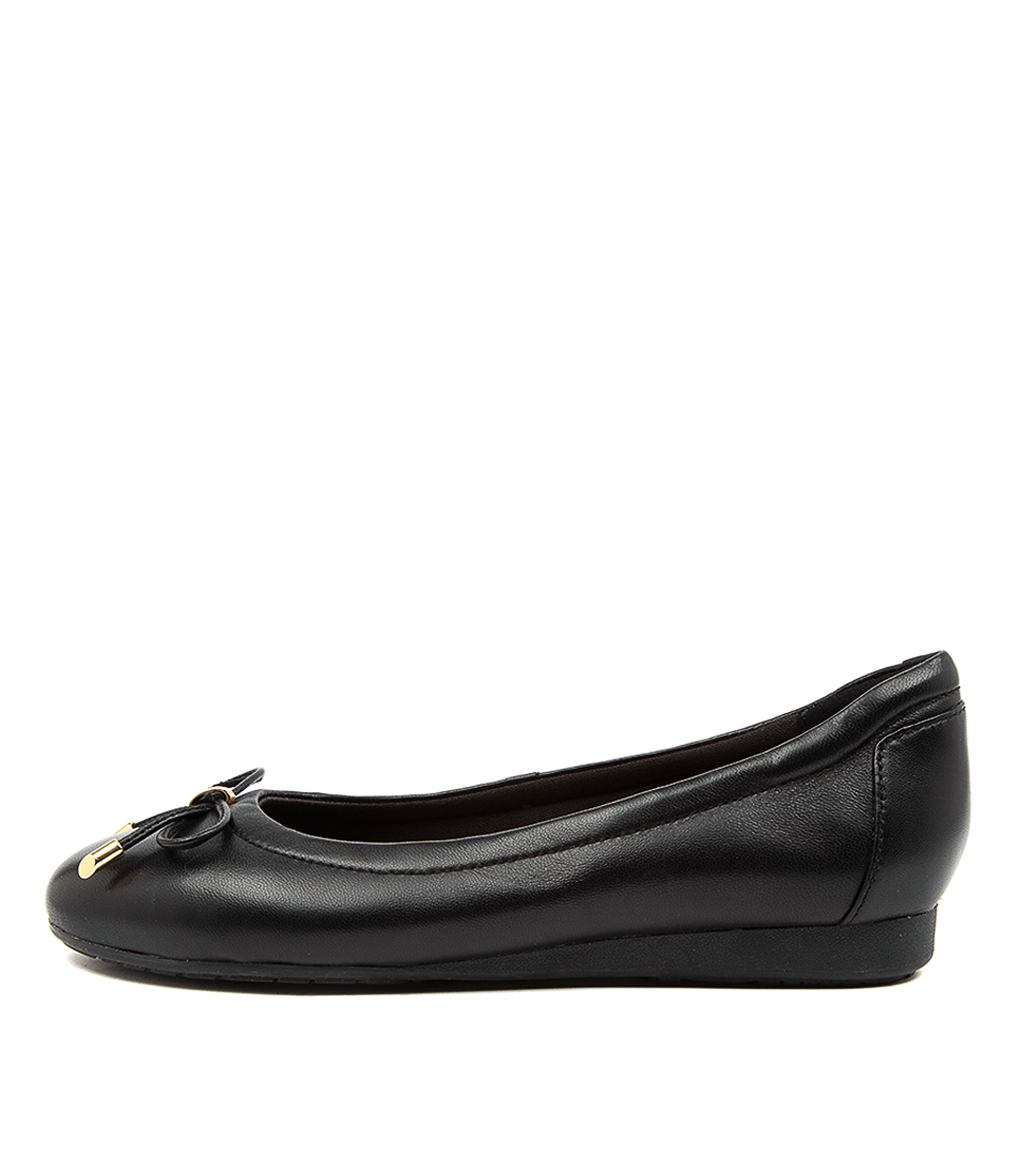 Buy Hush Puppies The Ballet Hp Black Flats online with free shipping