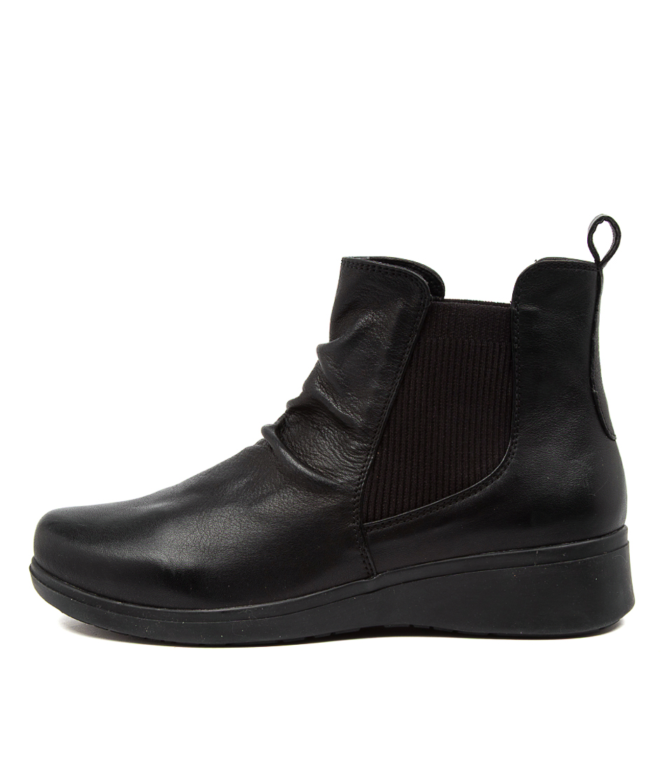 Buy Hush Puppies The Boot Hp Black Ankle Boots online with free shipping