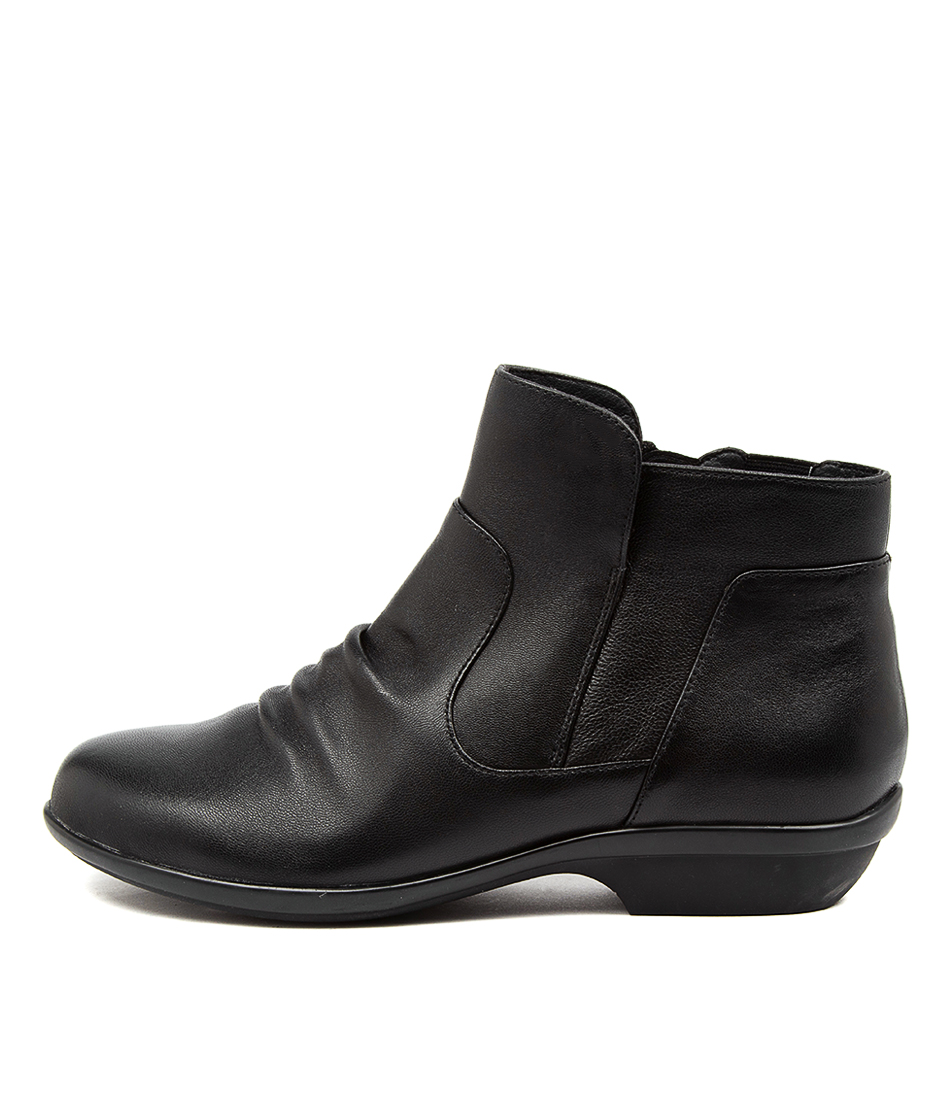 Buy Hush Puppies Patty Hp Black Ankle Boots online with free shipping