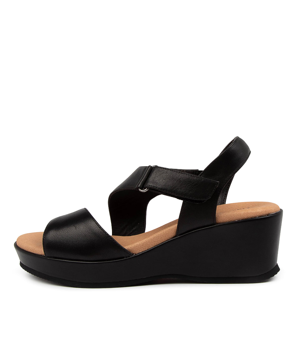Buy Hush Puppies Antigua Hp Black Heeled Sandals online with free shipping