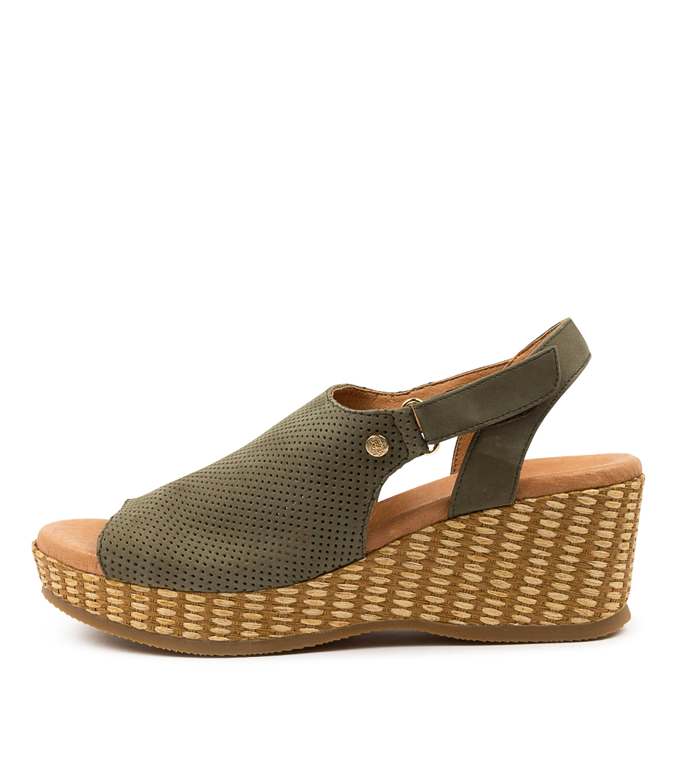 Buy Hush Puppies Aruba Hp Sage Heeled Sandals online with free shipping